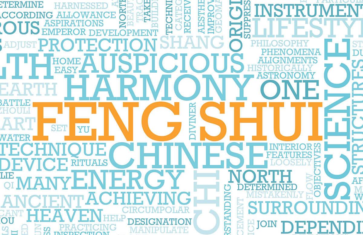 Feng Shui wordcloud