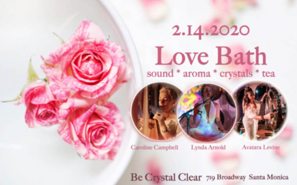 Love Bath: Valentine's Day Multi-Sensory Sound Experience