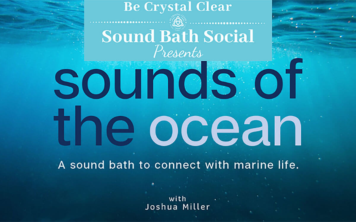 Sound Bath Social: Sounds of the Ocean